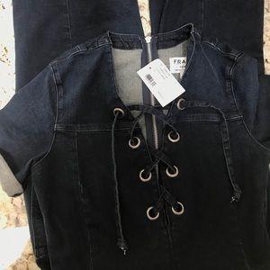 Frame Denim Pants - BNWT Frame Denim Le Jumpsuit Small